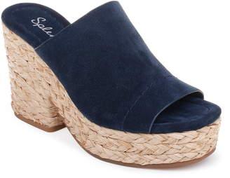 Splendid Theodore Open Toe Platform Slide Sandal