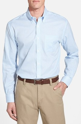 Men's Cutter & Buck 'Epic Easy Care' Classic Fit Wrinkle Free Tattersall Plaid Sport Shirt $72 thestylecure.com