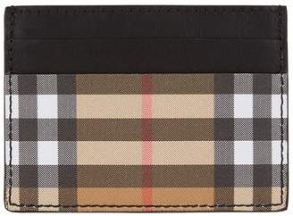Burberry Sandon House Check Card Holder
