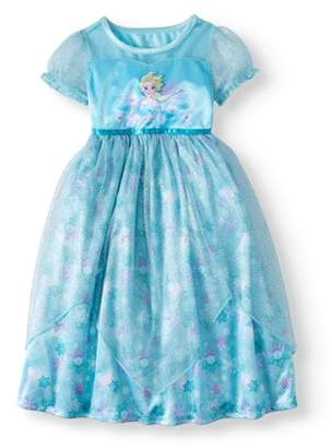 Disney Frozen Elsa Short Sleeve Fantasy Nightgown (Toddler Girls)