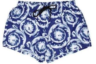 Versace Abstract Print Swimming Trunks w/ Tags