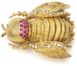 Ben-Amun Crystal Bee Pin
