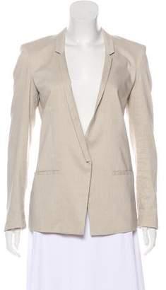 Helmut Lang Long Sleeve Linen Blazer
