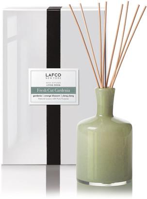 Lafco Inc. Fresh Cut Gardenia Reed Diffuser Living Room, 15 oz./ 444 mL