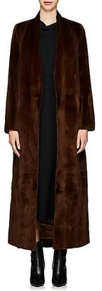The Row Women's Nalty Mink Fur Coat - Brown