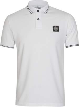 STONE ISLAND Trim Polo Shirt