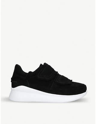 UGG Ashby spill seam suede trainers