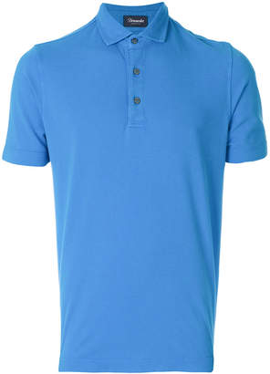 Drumohr short sleeved polo shirt