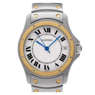 Cartier Santos Ronde Beige gold and steel Watches