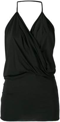 Rick Owens Lilies draped front blouse