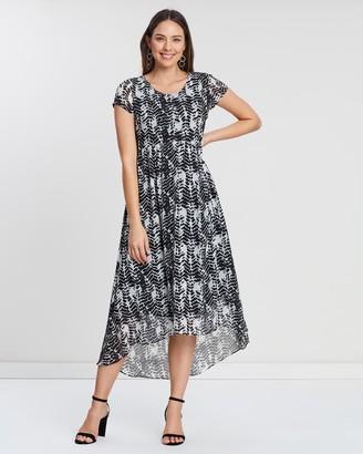 Privilege Shona Midi Length Dress
