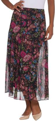 Linea By Louis Dell'olio by Louis Dell'Olio Petite Floral Print Pull-On Soft Skirt