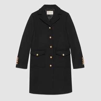Gucci Wool coat with DoubleG