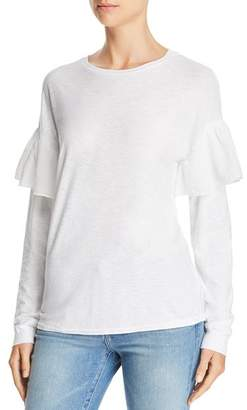 Comune Michelle by Hansville Ruffle-Sleeve Tee