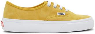 Vans (バンズ) - Vans イエロー スエード オーセンティック スニーカー
