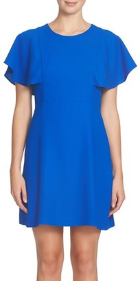 Women's Cece Skylar Flutter Dress $128 thestylecure.com