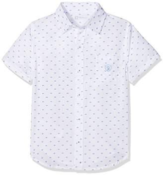 Camilla And Marc Tutto Piccolo Baby Boys' 4018S18 Shirt, (Optical White W00), 92 cm