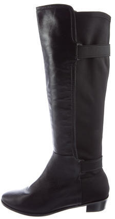 Cole Haan  Cole Haan Leather Knee-High Boots