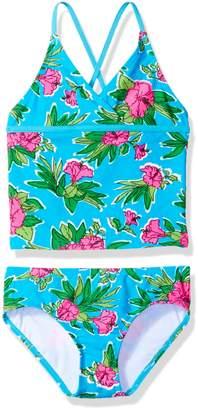 Kanu Surf Big Girls' Krista Floral Tankini Swimsuit