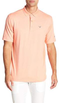 Callaway GOLF Short Sleeve Opti-Dri Heather Polo