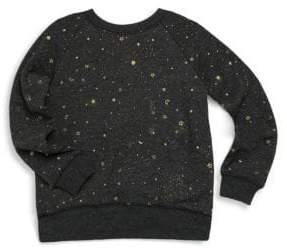 Spiritual Gangster Toddler's, Little Girl's & Girl's Stellar Print Vintage Sweatshirt