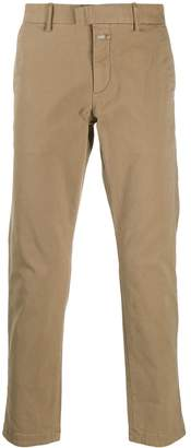 Closed straight leg chino trousers