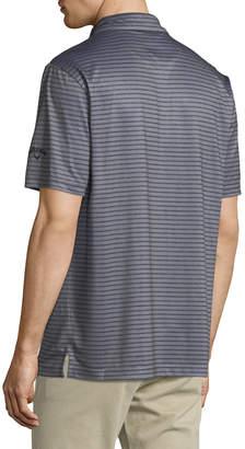 Perry Ellis Callaway Striped Polo Shirt