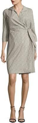 Lafayette 148 New York Women's Floral Printed Cotton Dress