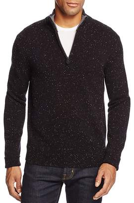 The Men's Store at Bloomingdale's Donegal Half Zip Cashmere Sweater $248 thestylecure.com