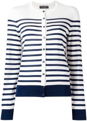 Dolce & Gabbana striped knitwear
