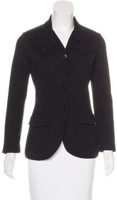 Loro Piana Knit Button-Up Jacket