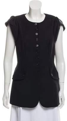 Michael Kors Short Sleeve Wool Jacket