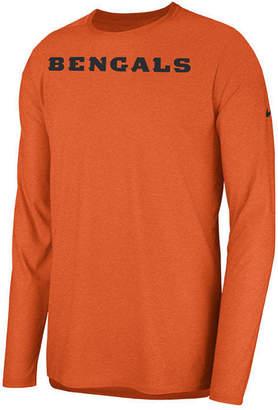 Nike Men Cincinnati Bengals Player Long Sleeve Top