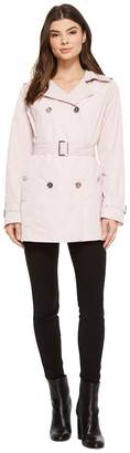 MICHAEL Michael Kors Short Double Breasted Trench M723285F Women's Coat