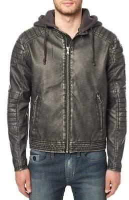 Buffalo David Bitton Jawashin Hooded Regular-Fit Jacket