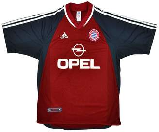 Munich Classic Football Shirts 2001-02 Bayern Home Shirt