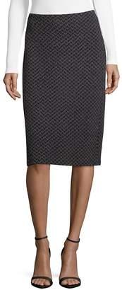 Giorgio Armani Women's Houndstooth Jersey Pencil Skirt