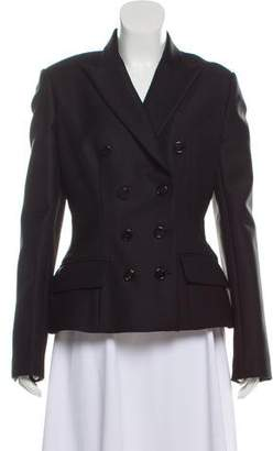 Christian Dior Wool Structured Blazer