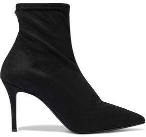 Giuseppe Zanotti Stretch-suede Ankle Boots