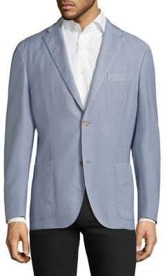 Boglioli Textured Regular Blazer