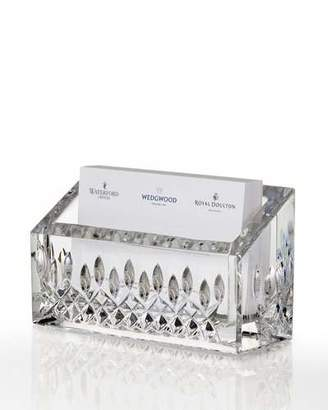 Waterford Crystal Lismore Business Card Holder