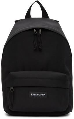 Balenciaga Black Nylon Small Explorer Backpack