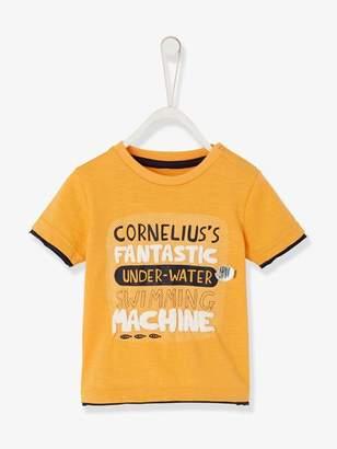 Baby Boys' Top, Cornelius Fantastic - orange light solid with design