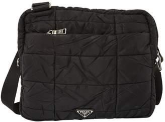 Prada Cloth Crossbody Bag