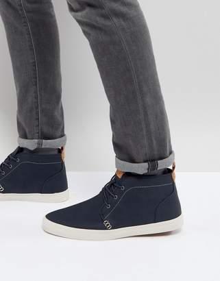 Call it SPRING Thaywien Hi Top Sneakers In Navy