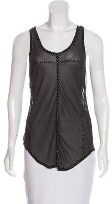 Isabel Marant Phil Sleeveless Silk Top