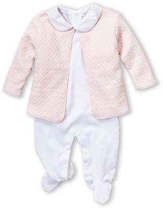 Kissy Kissy Newborn Girls) Two-Piece Jacket & Rattle Footie