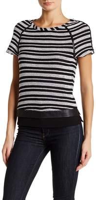 Tart Nina Textured Striped Tee