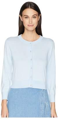 Kate Spade Jewel Button Cropped Cardigan Women's Sweater