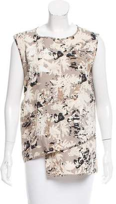 Zero Maria Cornejo Printed Sleeveless Top w/ Tags
